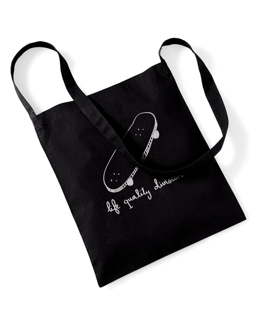 LQD Driftwood tote bag black