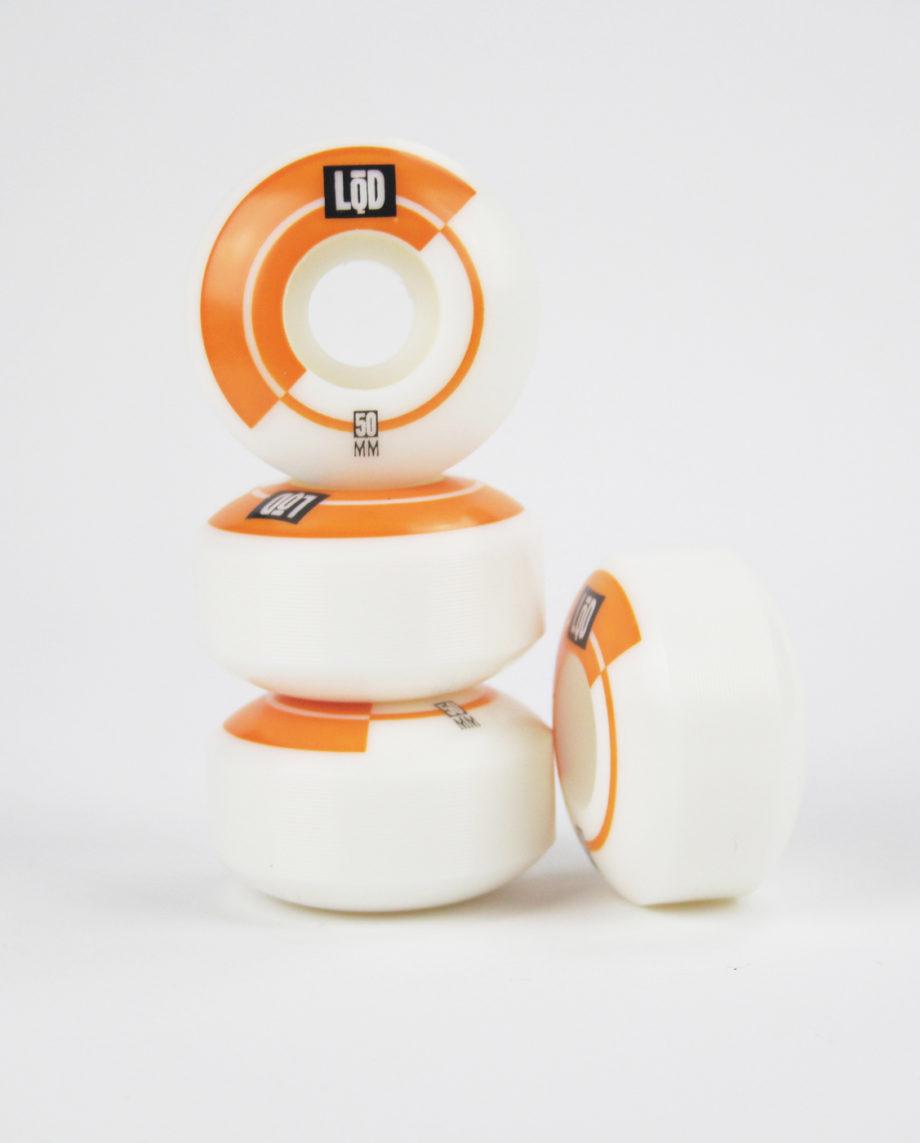 LQD Half wheels 50mm skateboard wheels