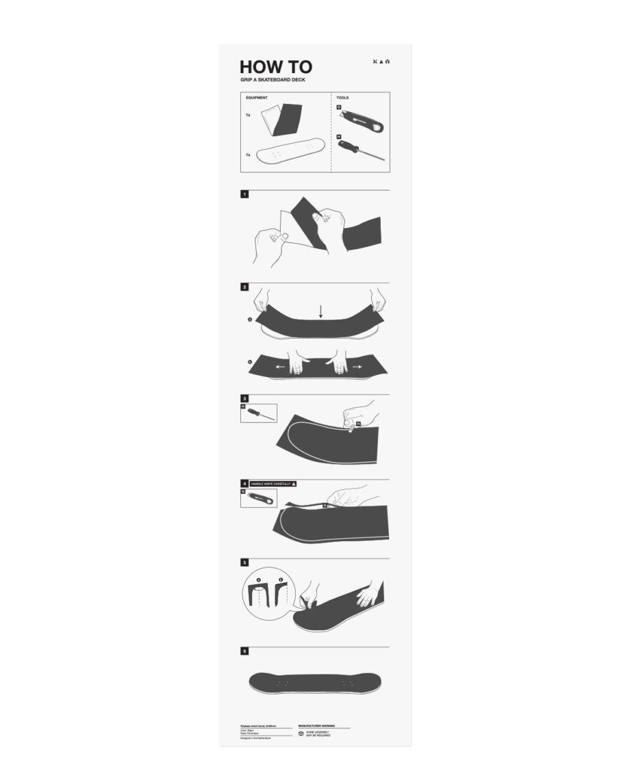 LQD How To skateboard griptape