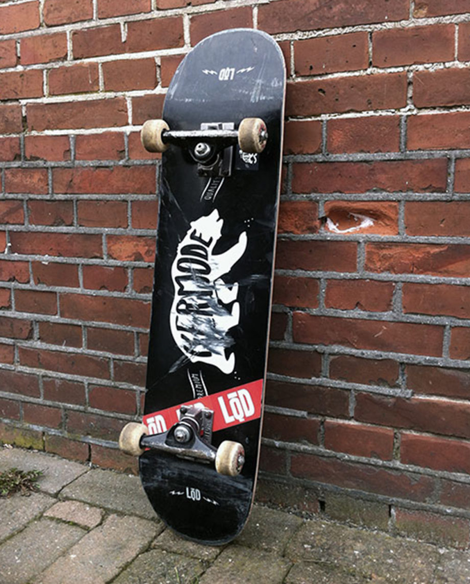 LQD Kermode skateboard deck