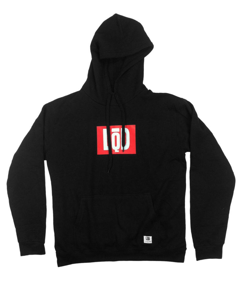 LQD Logo Black hoodie sweater
