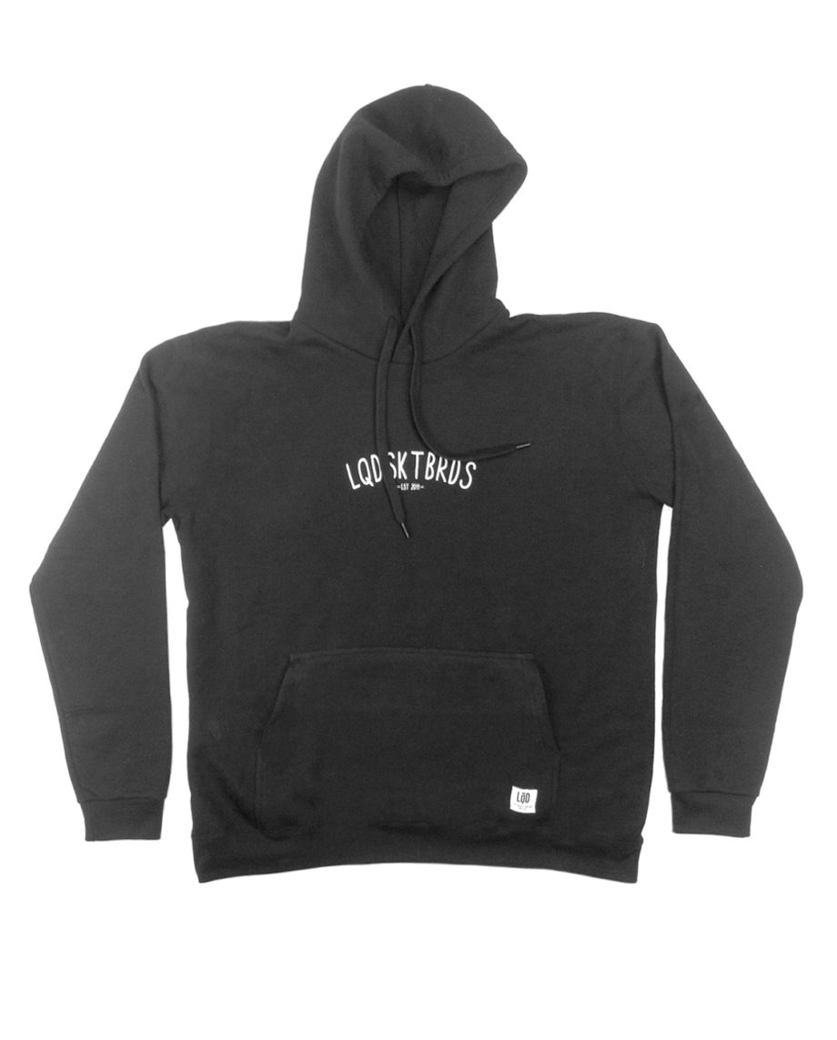 LQD LQDSKTBRDS Charcoal hoodie sweater
