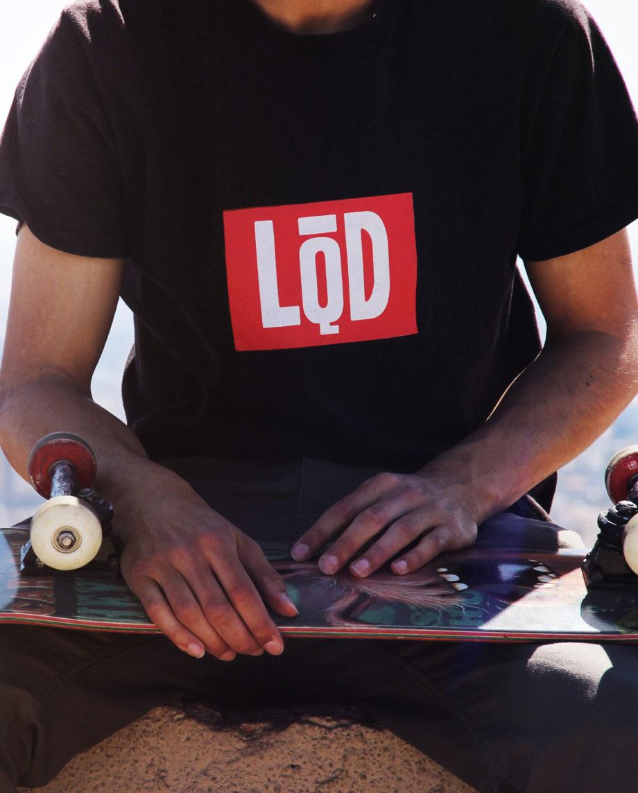 LQD Logo Black t shirt