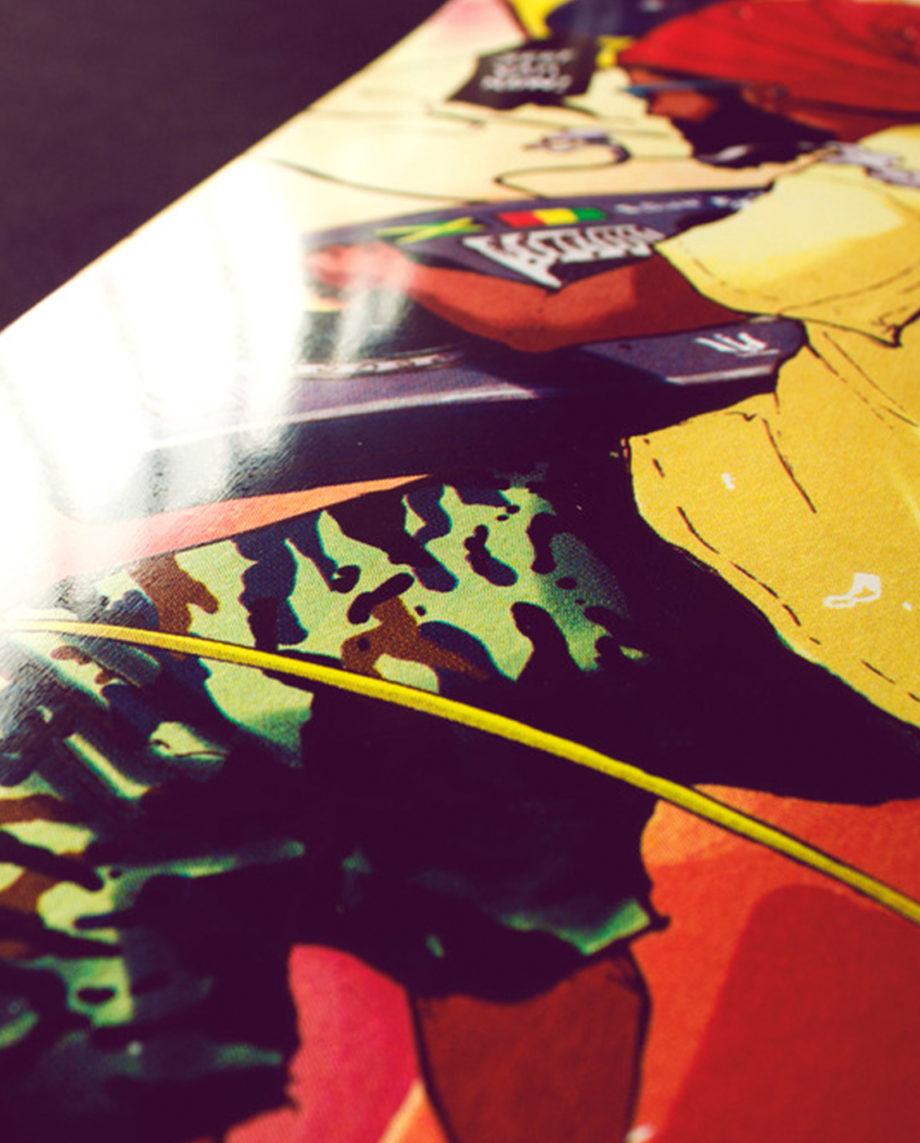 LQD Mastah skateboard deck
