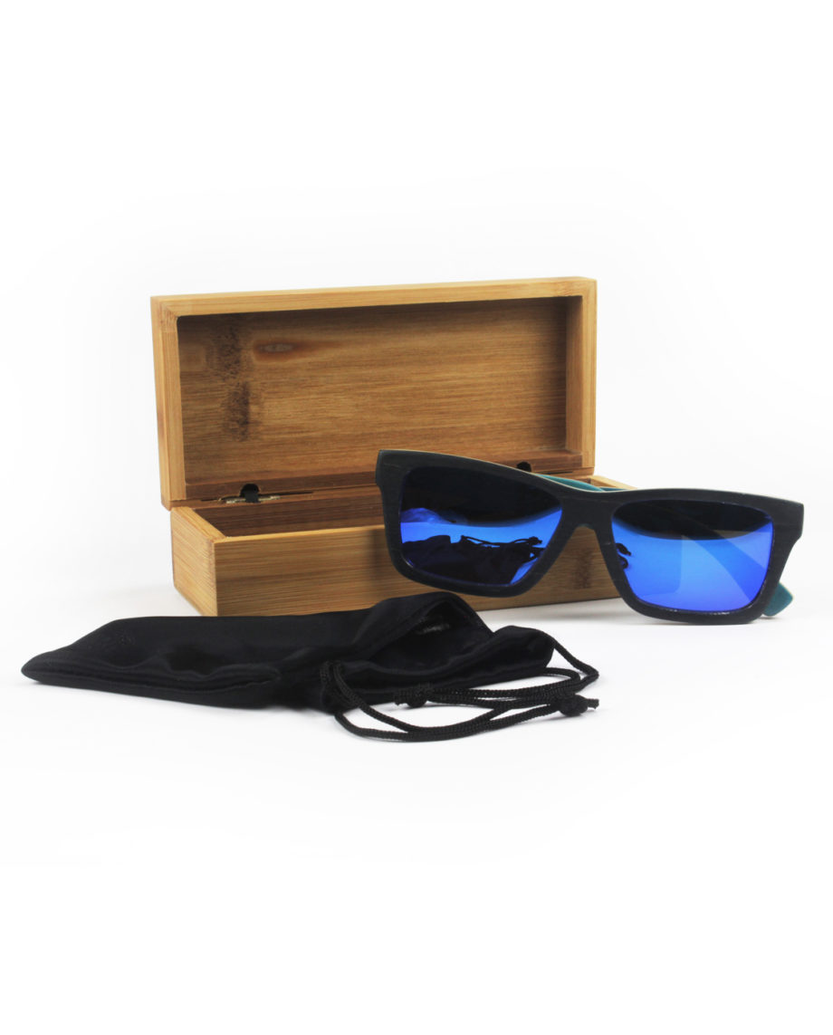 LQD Recycle Black Ice skateboard shades sunglasses