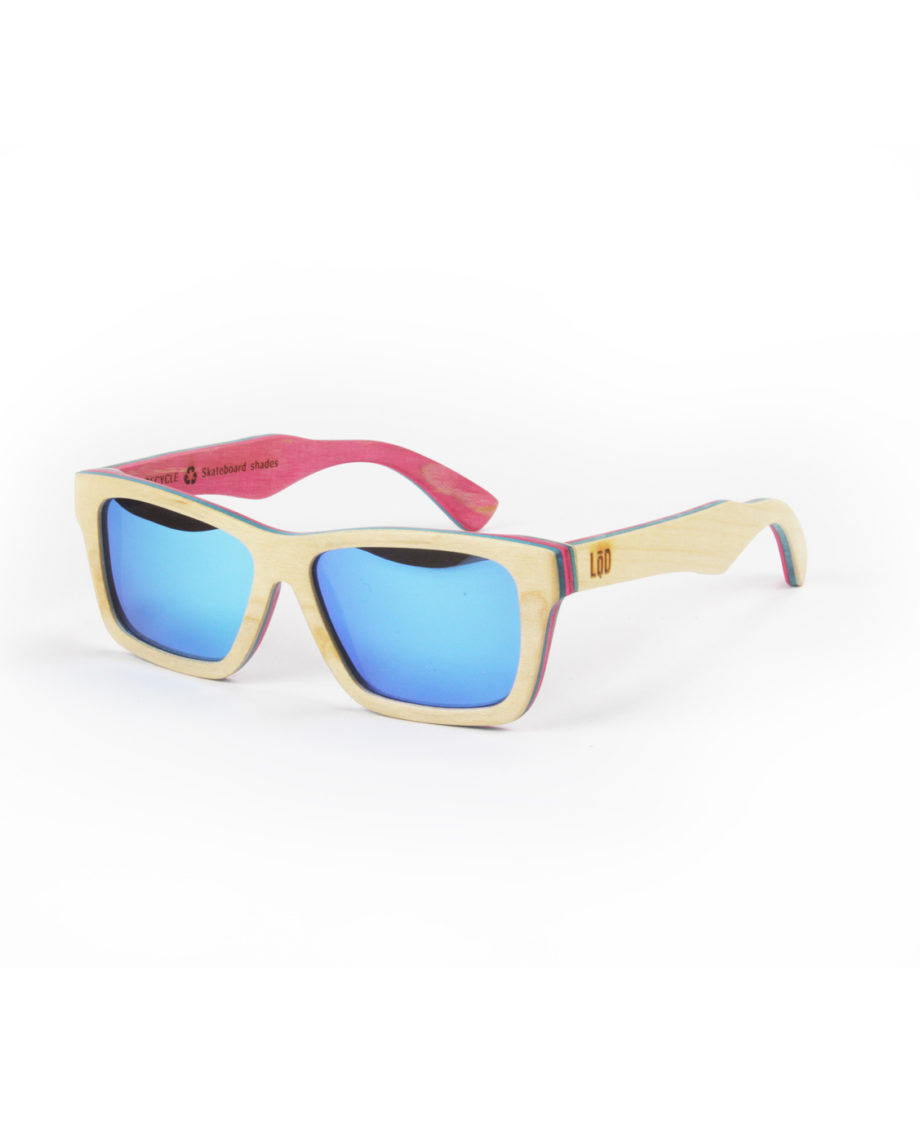 LQD Recycle Natural Ice skateboard shades sunglasses