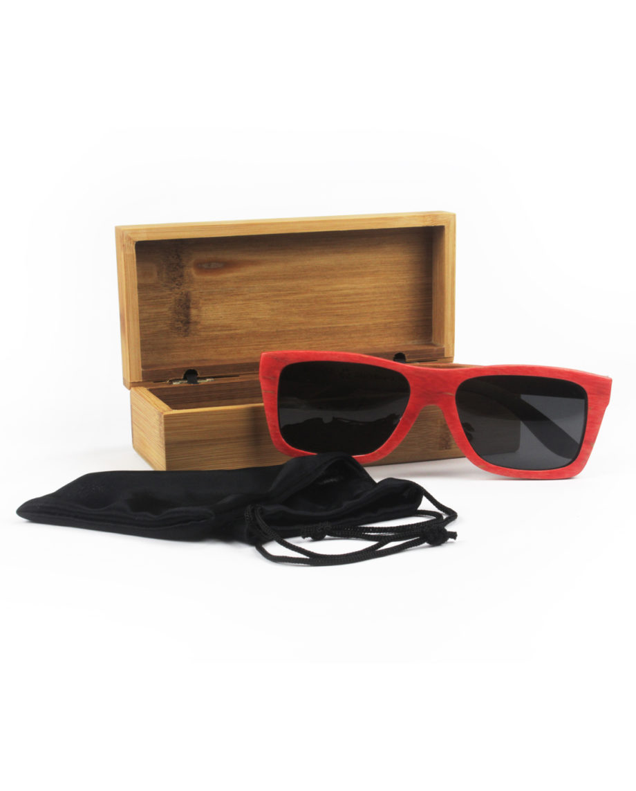 LQD Recycle Red Smoke skateboard shades sunglasses