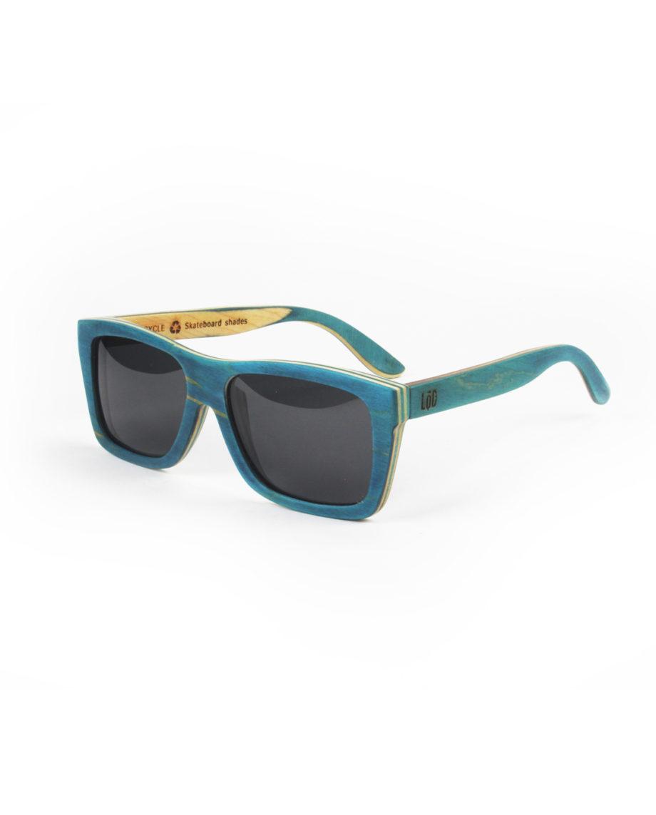 LQD Recycle Turqoise Smoke skateboard shades sunglasses