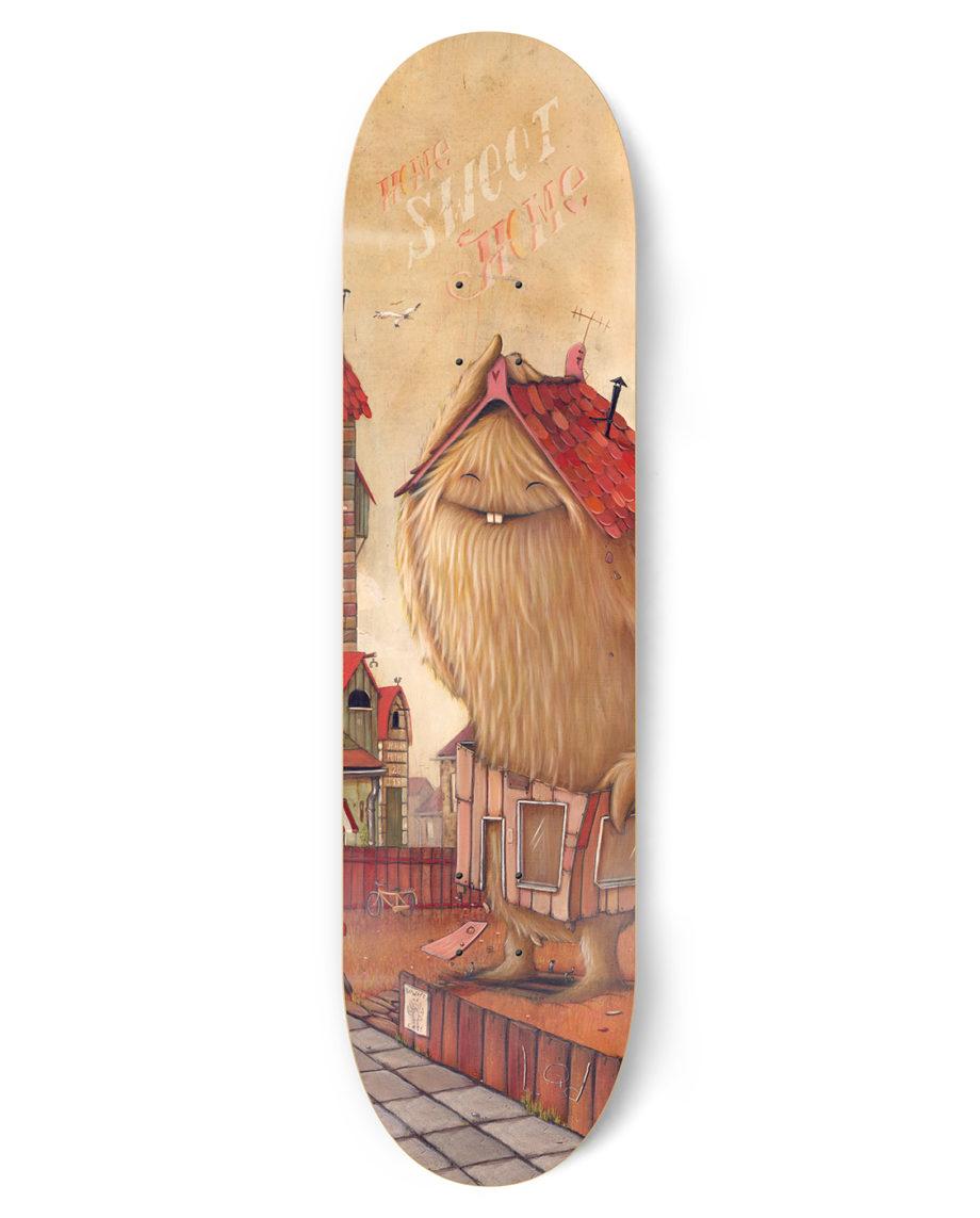 LQD There Goes The Neighbourhood skateboard deck