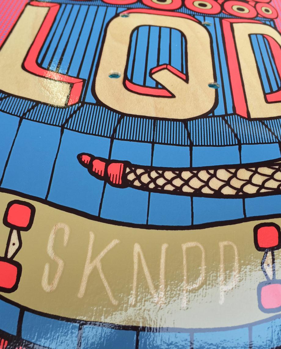 LQD Totem 2 skateboard deck