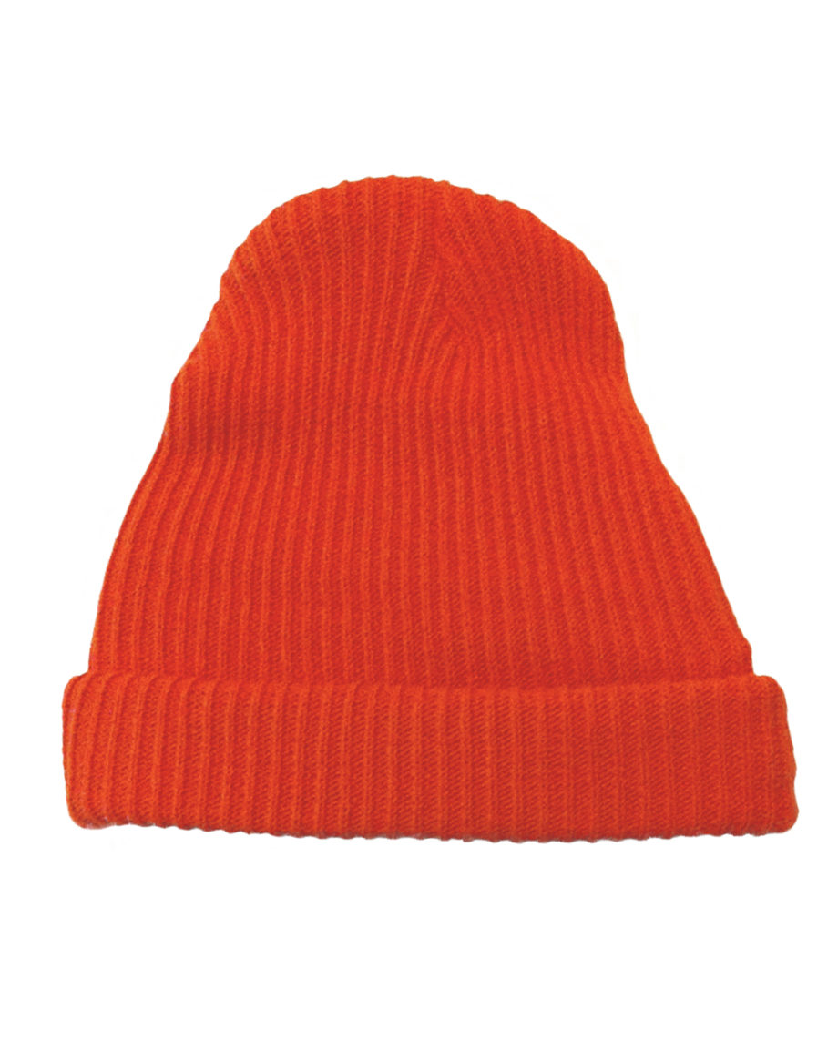 LQD Zissou red orange beanie hat
