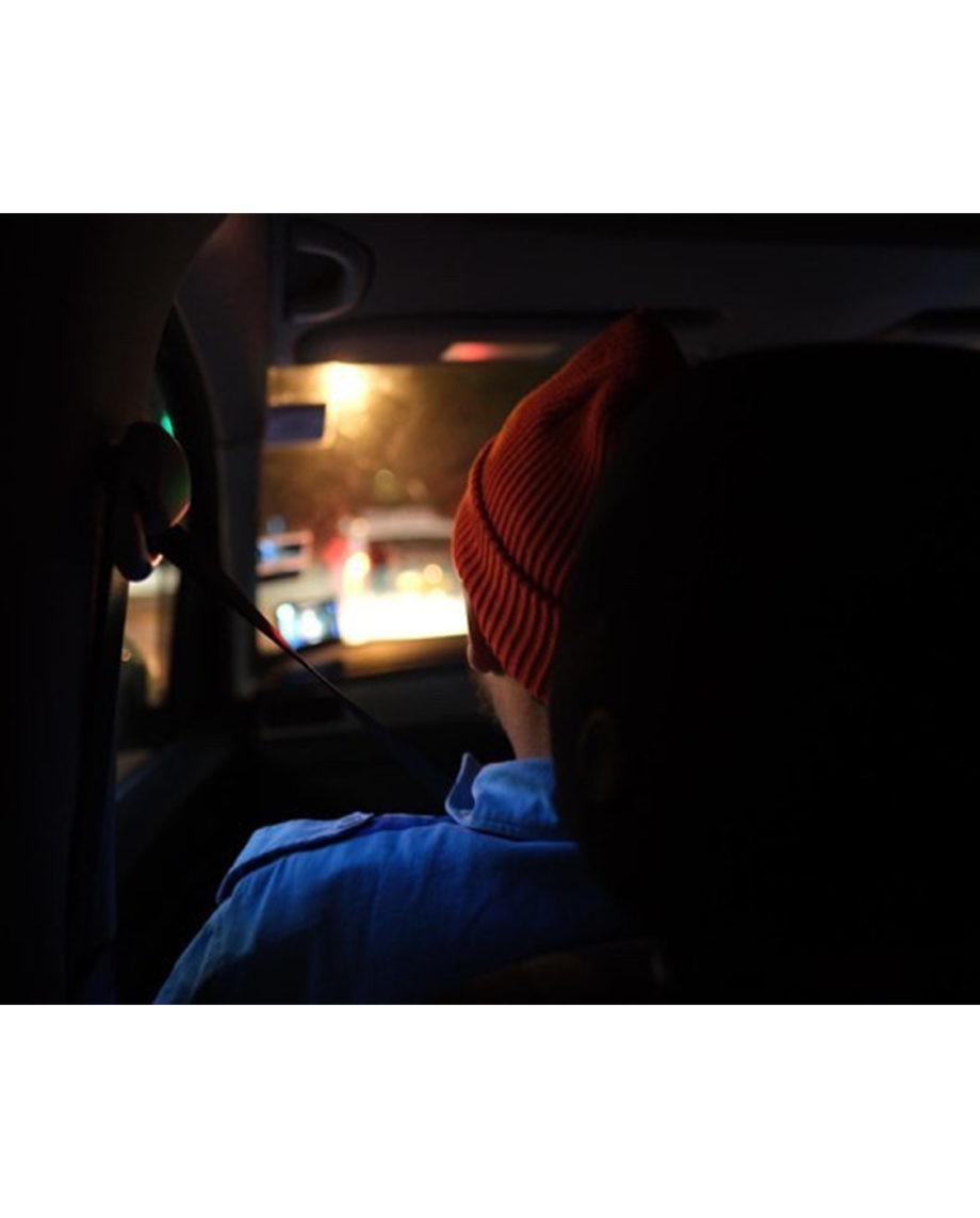 LQD Zissou red orange beanie hat